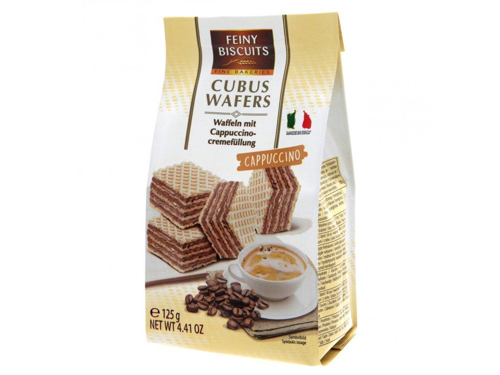 Feiny Waflové platky s cappuccino-krémovou náplní 125g