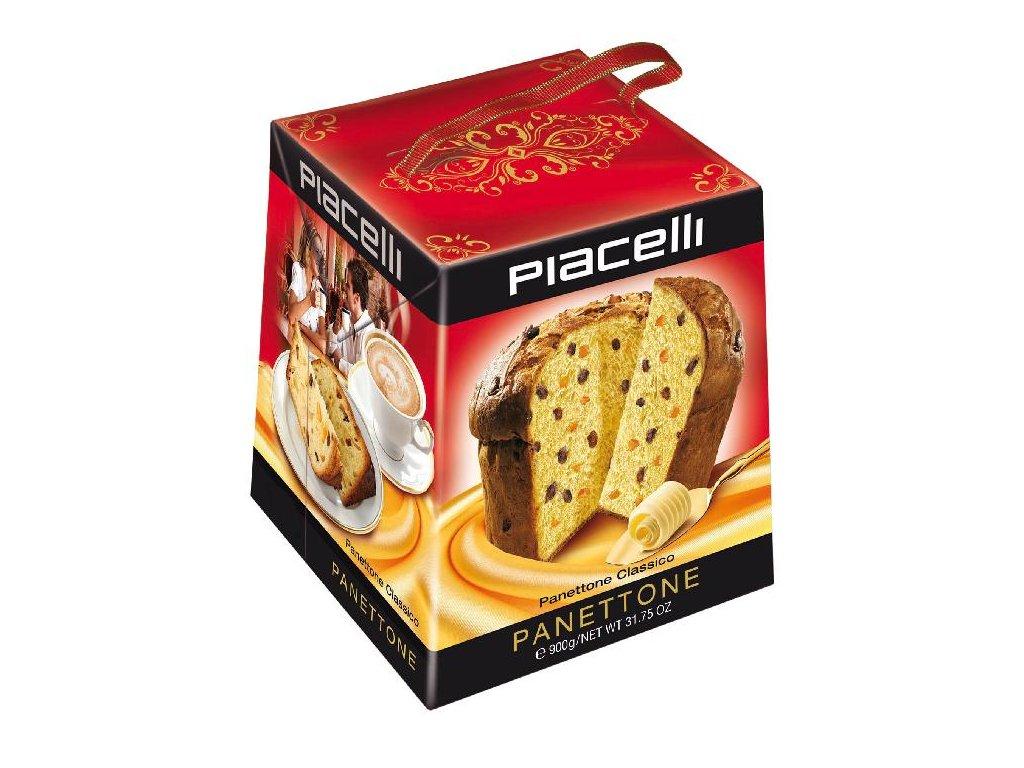 Piacelli Panettone Classico Tradiční Italská bábovka 900g