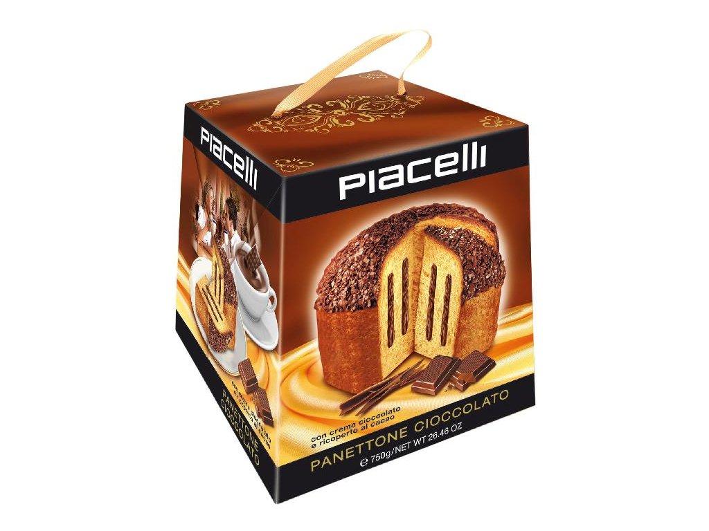 Panettone Cioccolato Tradiční panettone s čokoládou 750g