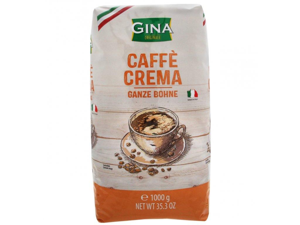 Gina Caffé Crema Zrnková káva 1kg