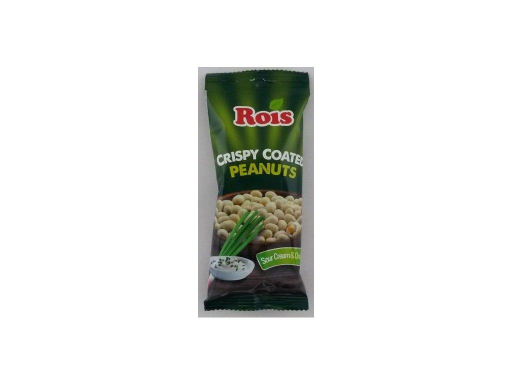 Arašídy v těstíčku krém & cibule 40g