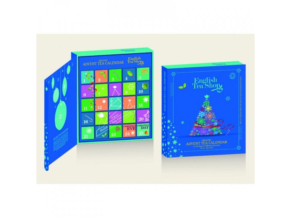 English Tea Shop Adventní kalendář kniha 25 pyramidek