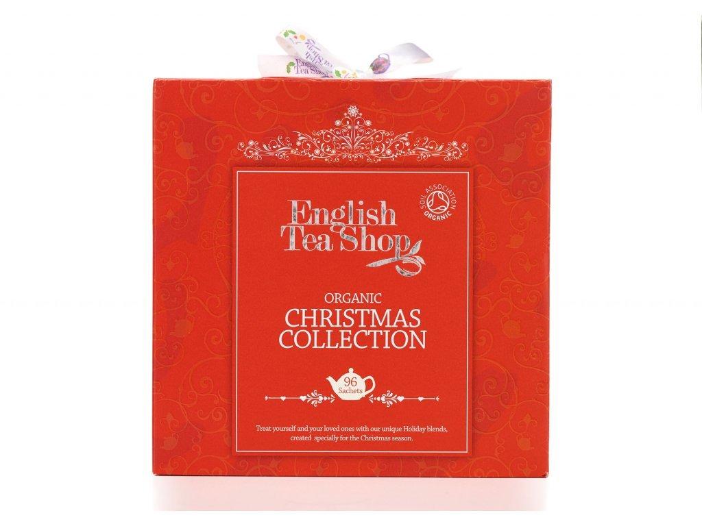Dárková kazeta English Tea Shop kostka červená 96 sáčků