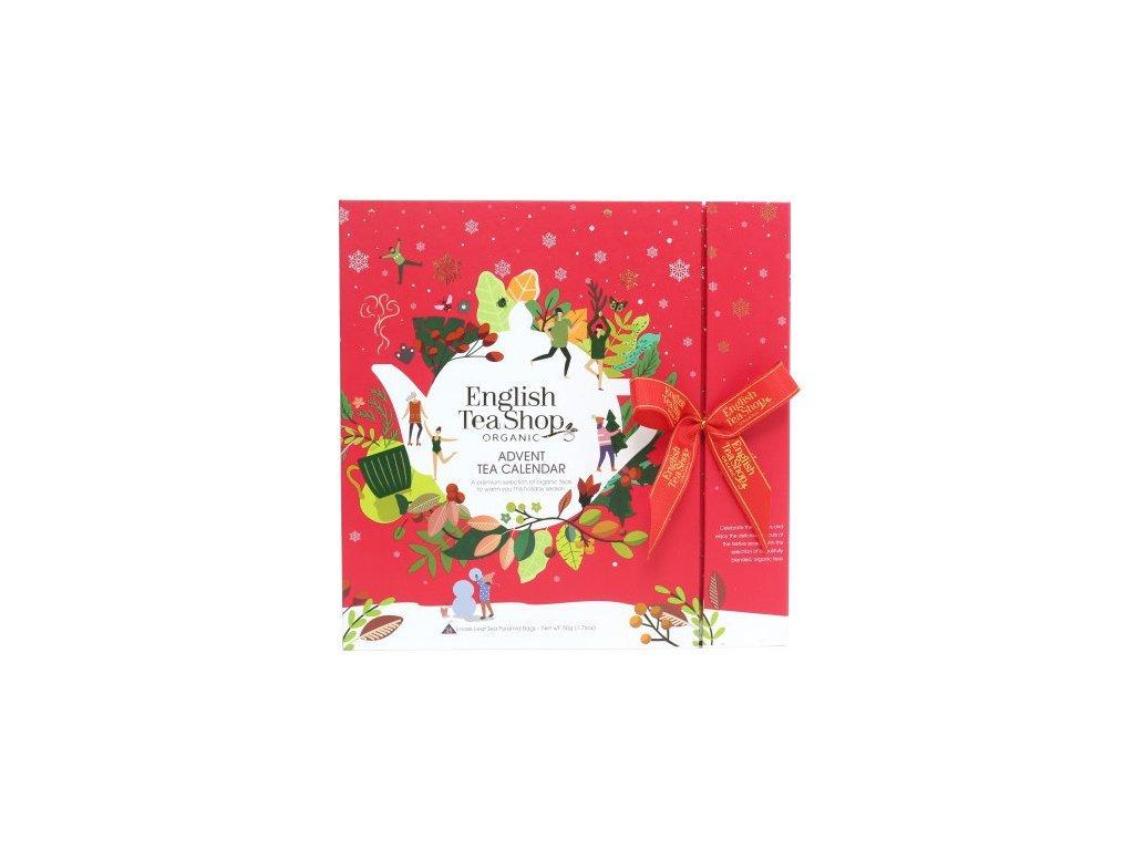 ETS25 Adventní kalendář červená kniha bio