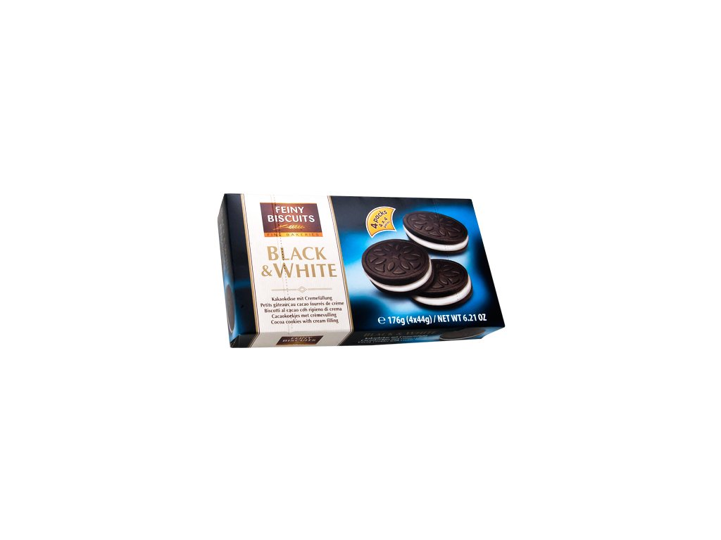 Feiny Biscuits oplatky Black & White 176g