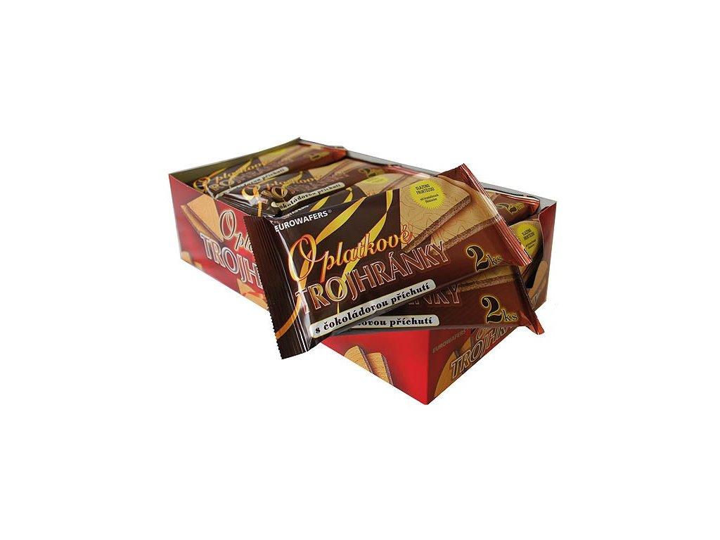 Dia Trojhránky čokoládové 25g