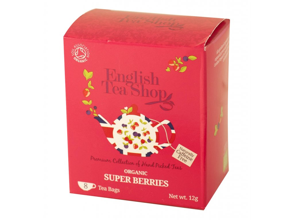 English Tea Shop Super ovocný čaj 8 sáčků