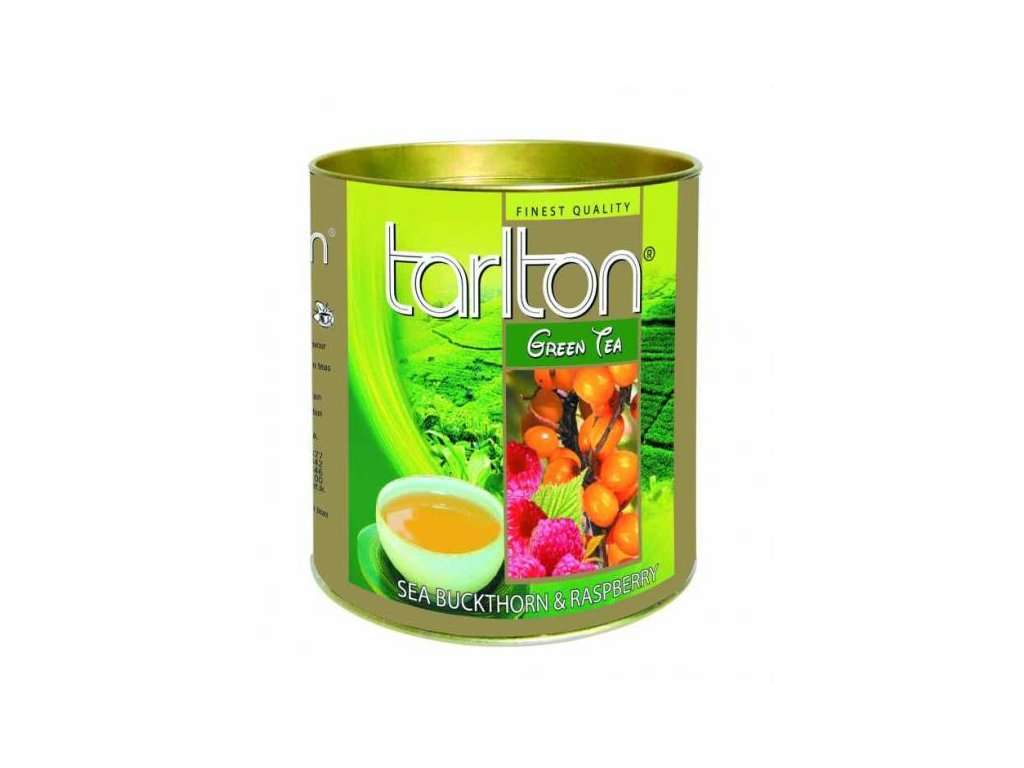 Tarlton Malina rakytník zelený čaj 100g