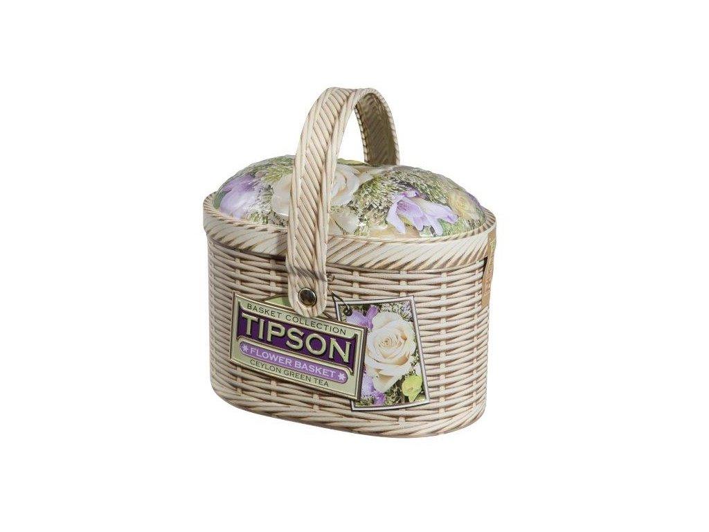 Tipson Basket Flower zelený čaj 100g