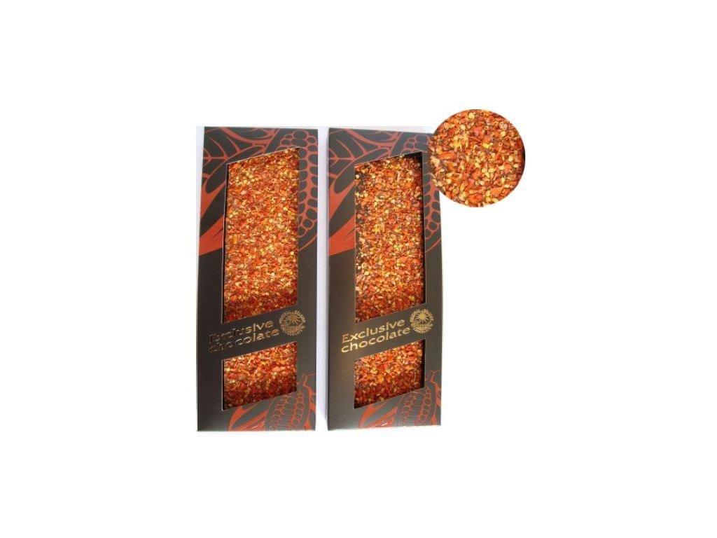Severka Mléčná čokoláda s Jalapeno (chilli) 120g