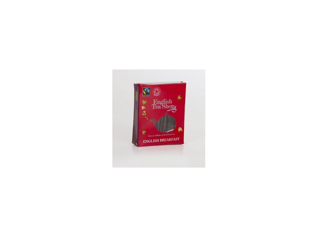 Certifikovaný bio a fairtrade čaj English breakfast 1 sáček pyramidového čaje