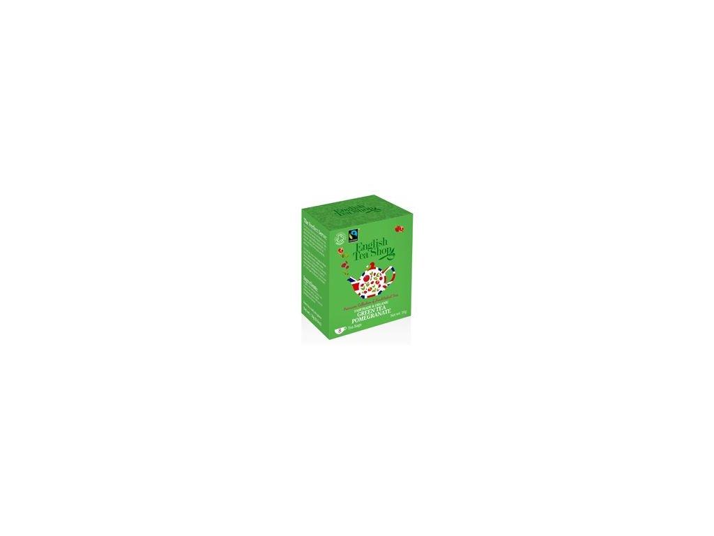 English Tea Shop Zelený čaj granátové jablko 8 sáčků
