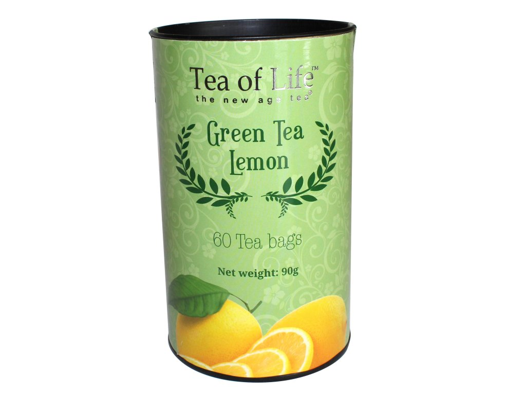 Tea of Life Zelený čaj s citronem 60ks