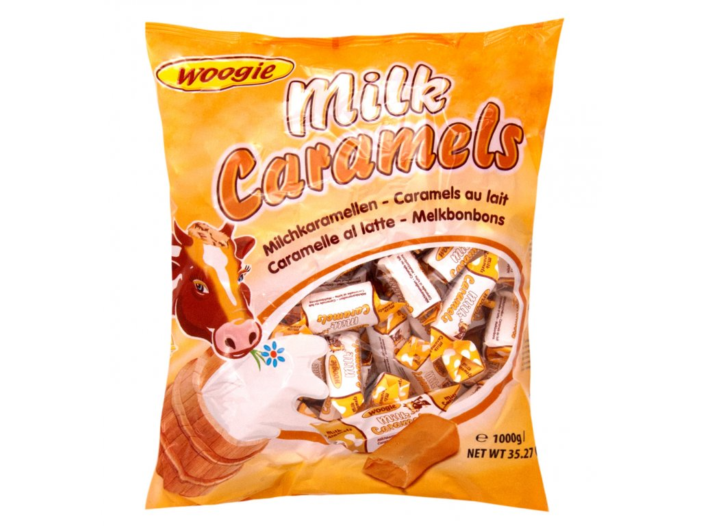 Woogie Mléčné karamelky 1kg