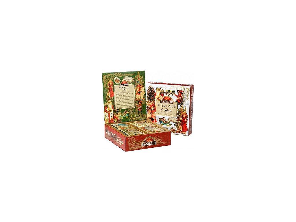 Basilur Dárková kolekce čajů Vintage 30x2g a 10x1,5g