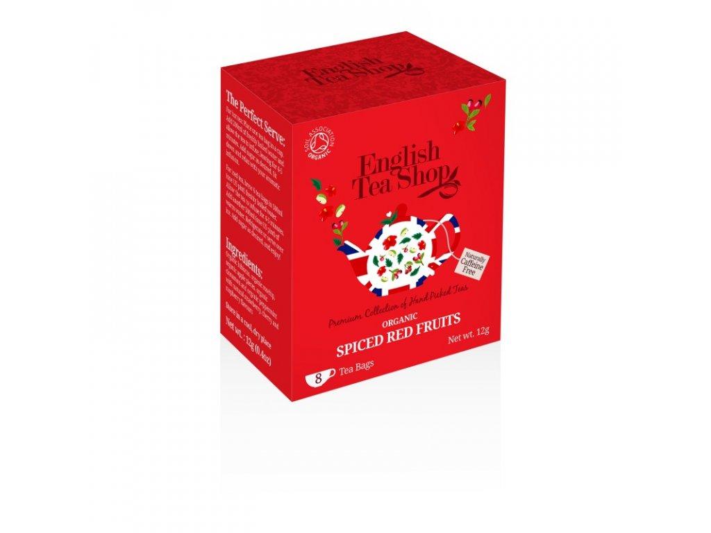 English Tea Shop Kořeněné červené ovoce bio 8 n.s.