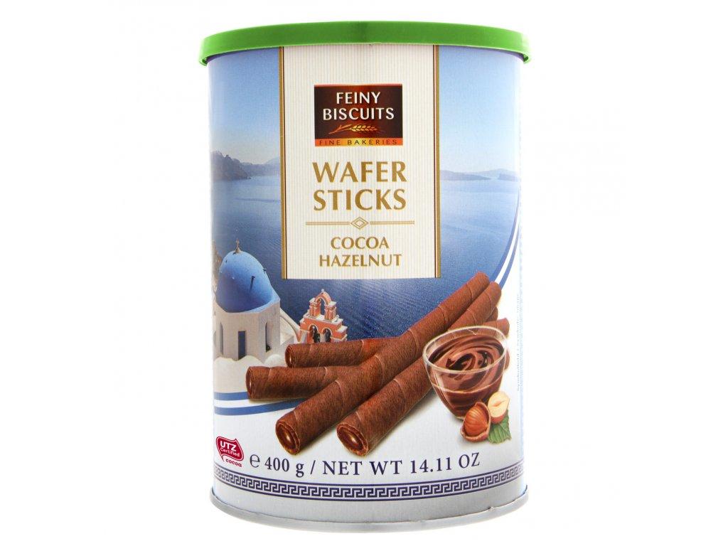 Feiny Trubičky plněné kakaovo-oříškovým krémem 400g