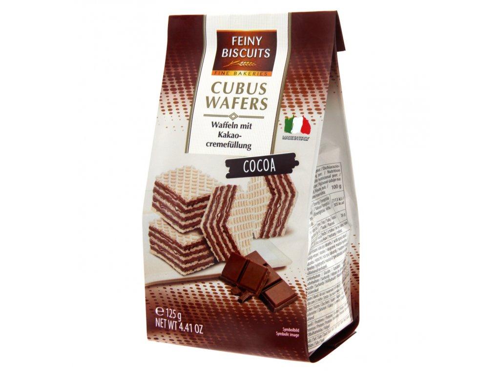 Feiny Vaflové kakaové sušenky 125g