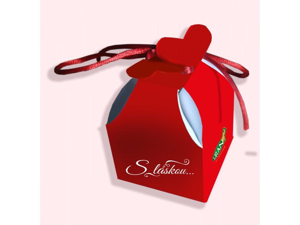 Liran S láskou Valentýnský čaj červené balení 2g