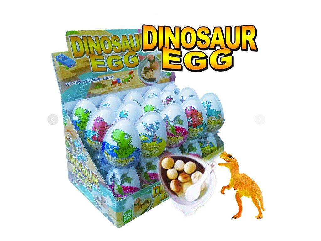 Dinosaur Egg Čokoládové vajíčko s překvapením 8g