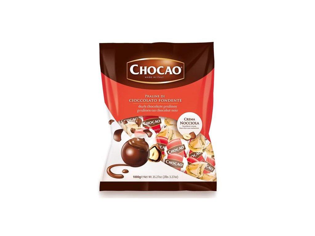 Vergani Pralinka z hořké čokolády s lískooříškovým krémem 1kg