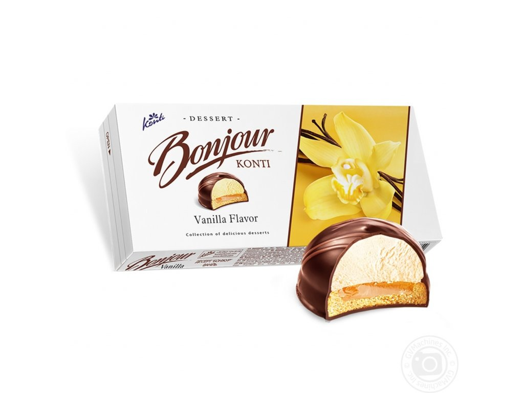 Konti Dessert Bonjour vanilla 232g