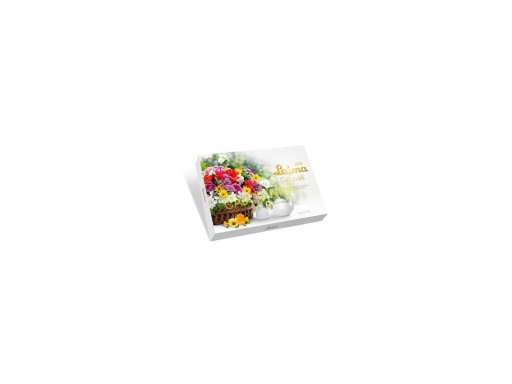Laima Bonboniéra Květiny v košíku 190g