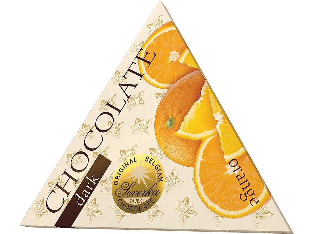 Severka Hořká čokoláda s pomerančem 50g
