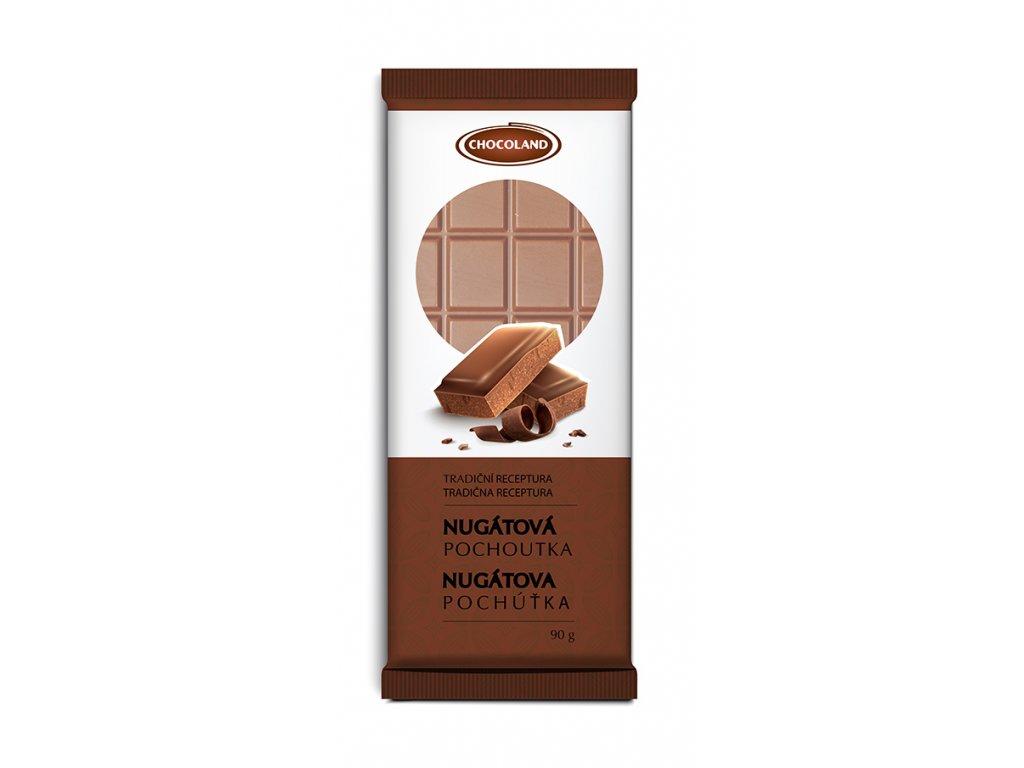 Chocoland Nugátová pochoutka 90g