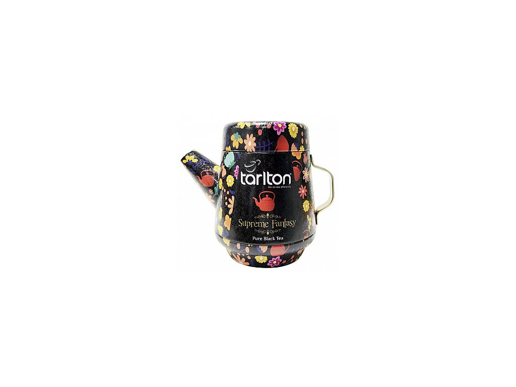 Tarlton Tea Pot Supreme Fantasy Black Tea plech 100g