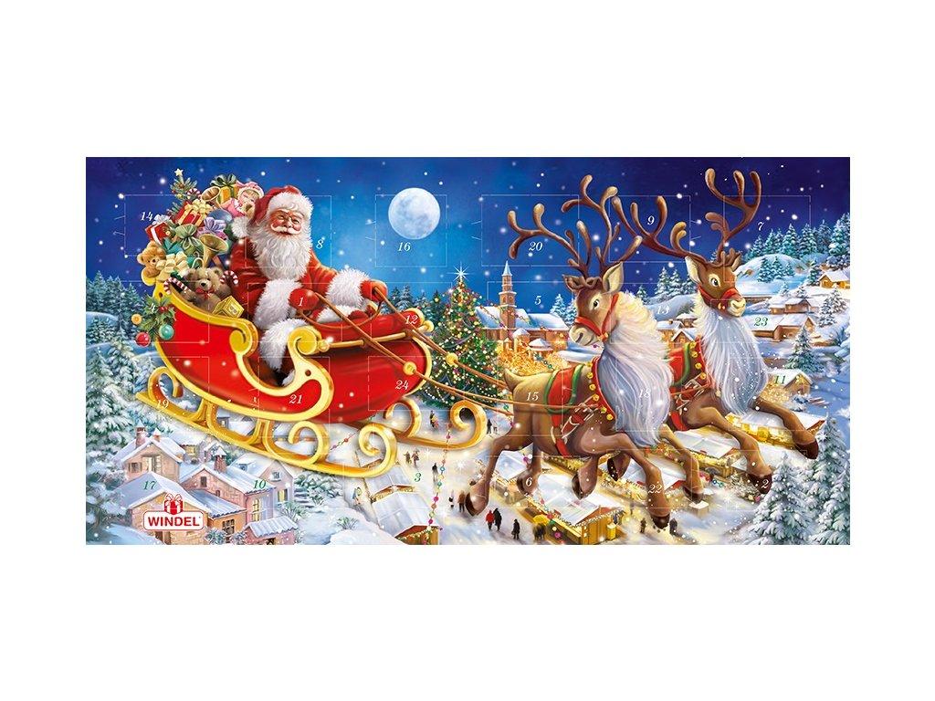 Windel Exklusivní Adventní kalendář maxi 240g AKCE