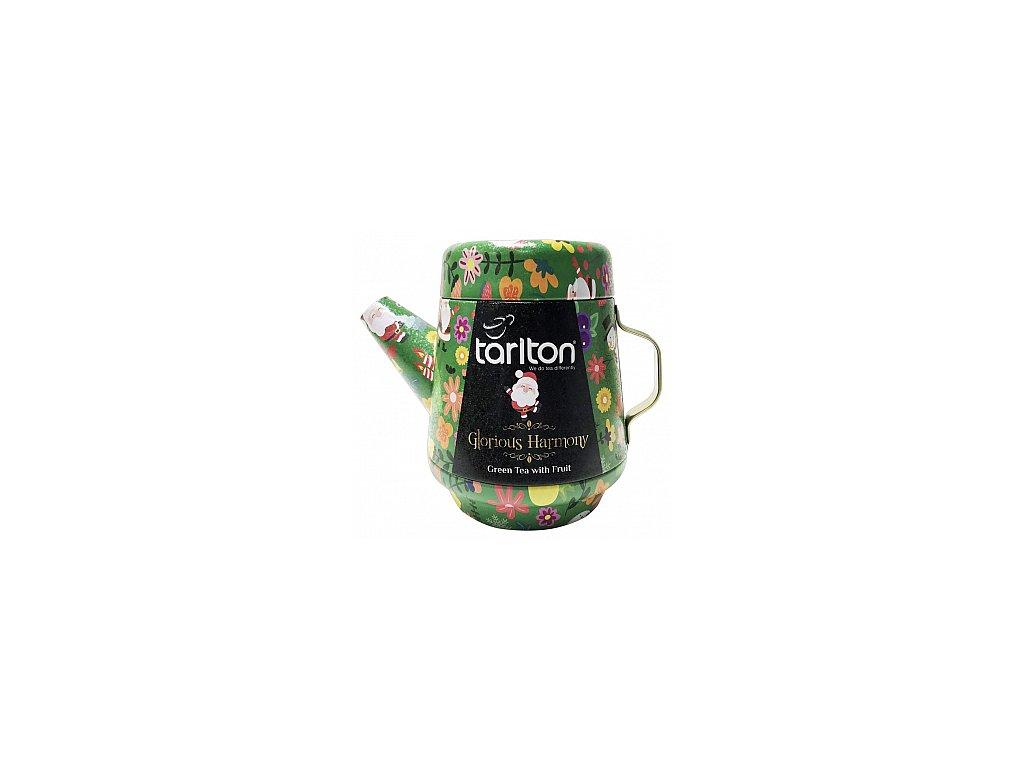 Tarlton Tea Pot Glorious Harmony Green Tea plech 100g