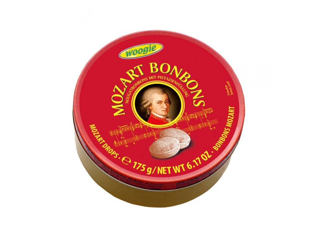 Woogie Mozart Bonbóny 175g