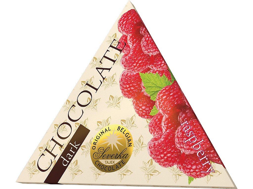 Severka Hořká čokoláda s malinami 50g