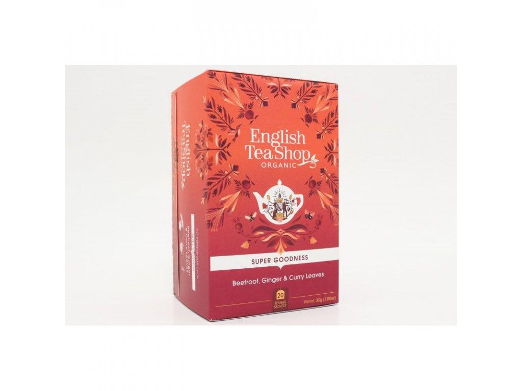 English Tea Shop20 Červená řepa, zázvor a curry mandala design