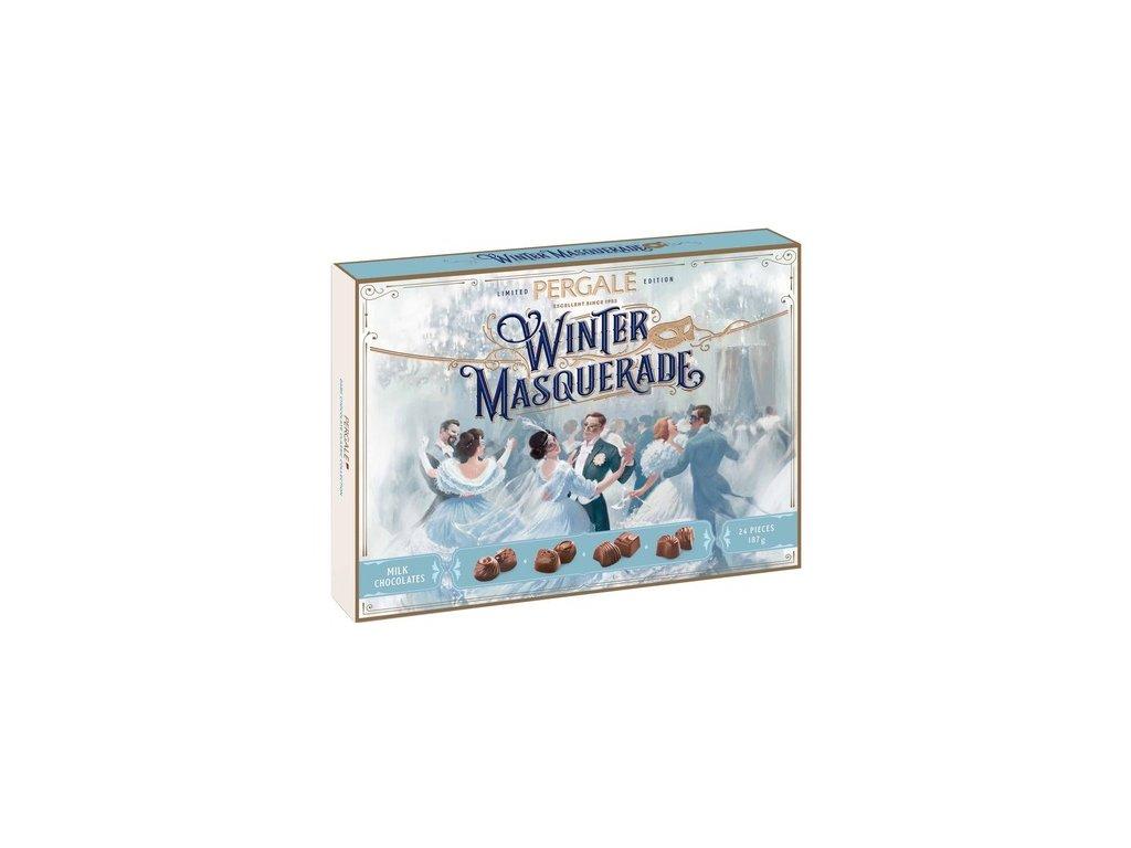 Pergale Winter Mléčná kolekce pralinek 187g