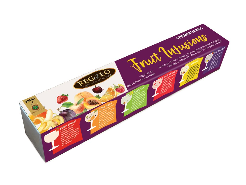 Regalo Fruit Intusions 6x2g