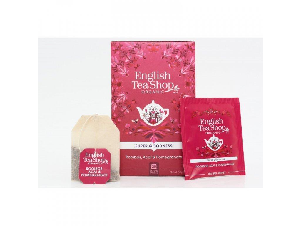 English Tea Shop Rooibos, acai a granátové jablko mandala design 20ns