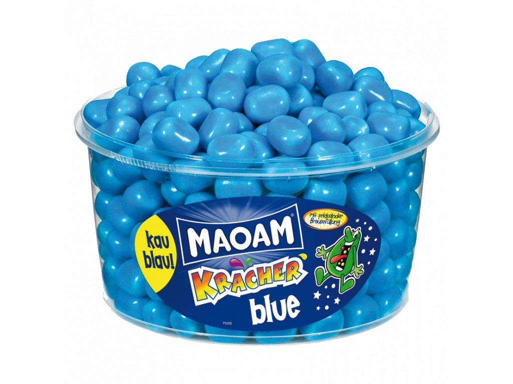 Haribo Maoam Blue Kracher Žvýkací bonbony s práškovou náplní 1200g (dóza 265ks)