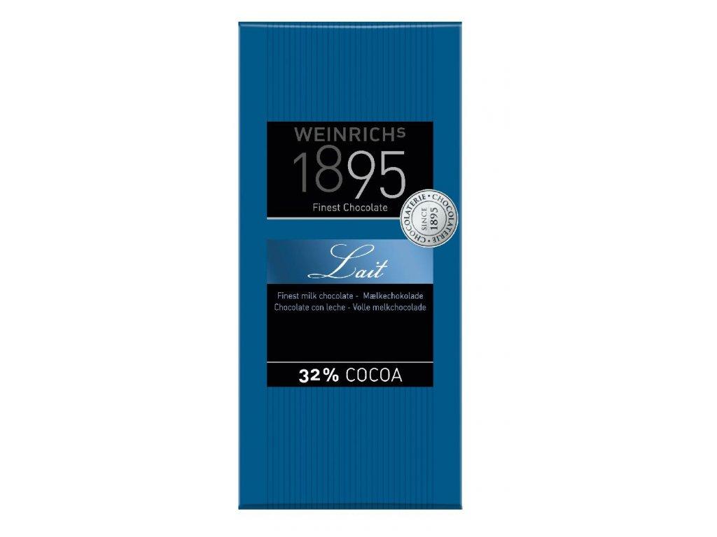Weinrichs Jemná mléčná čokoláda 100g