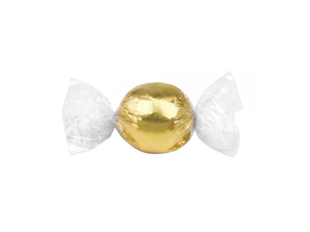 Laica Pralinky z mléčné čokolády s lískooříškovým krémem zlaté 1kg