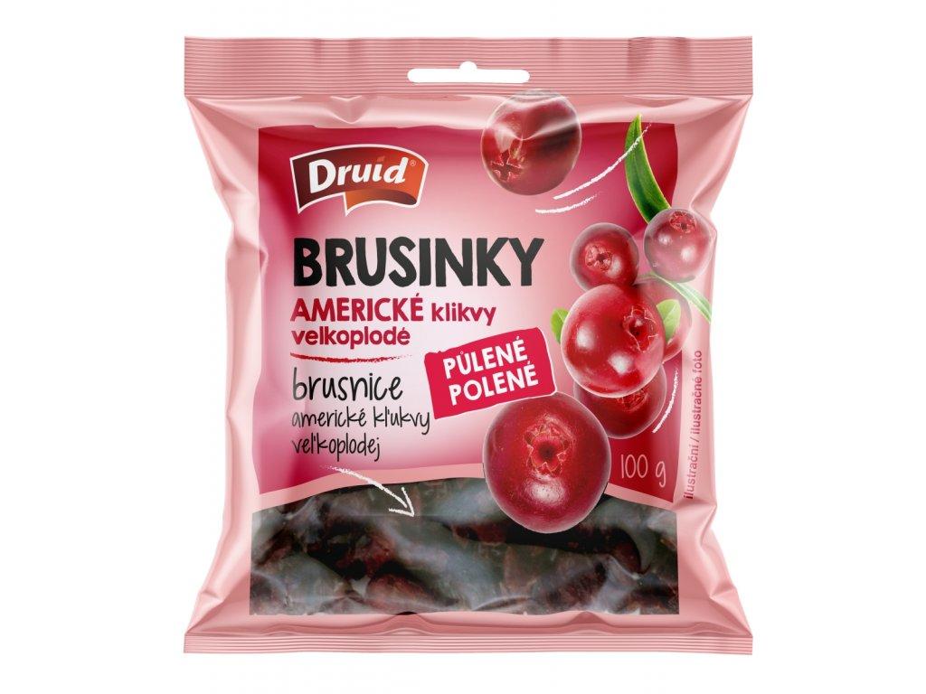 Druid Brusinky americké, klikvy velkoplodé 100g