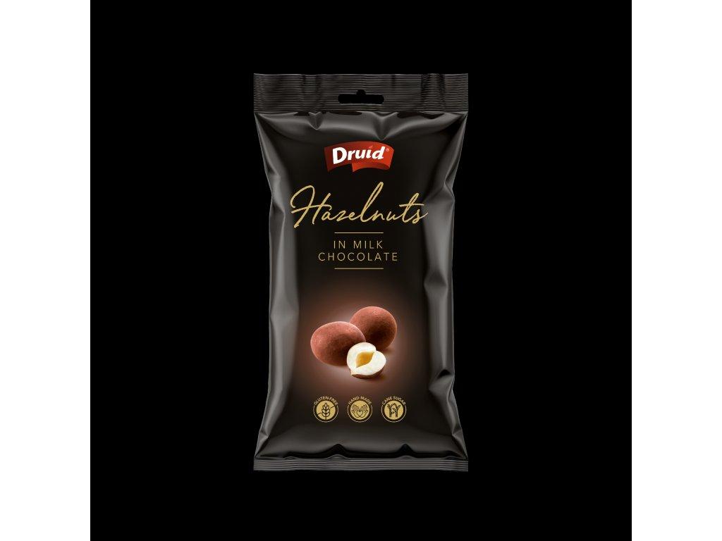 Druid Lískové ořechy v mléčné čokoládě 90g