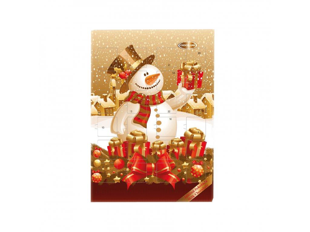 Kalendář Sněhulák s mašlí 50g