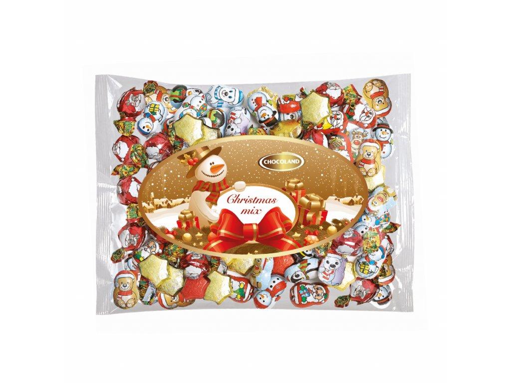 Chocoland Vánoční mix pralinky a figurky 1kg