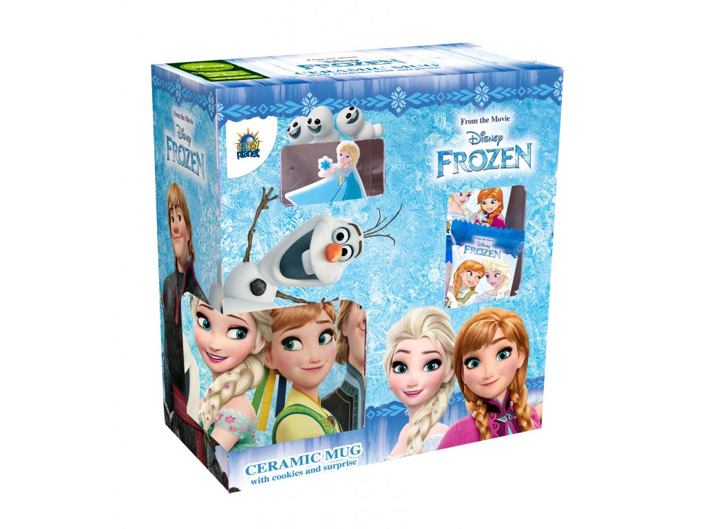Frozen 2 Vánoční set s hrnkem 40g
