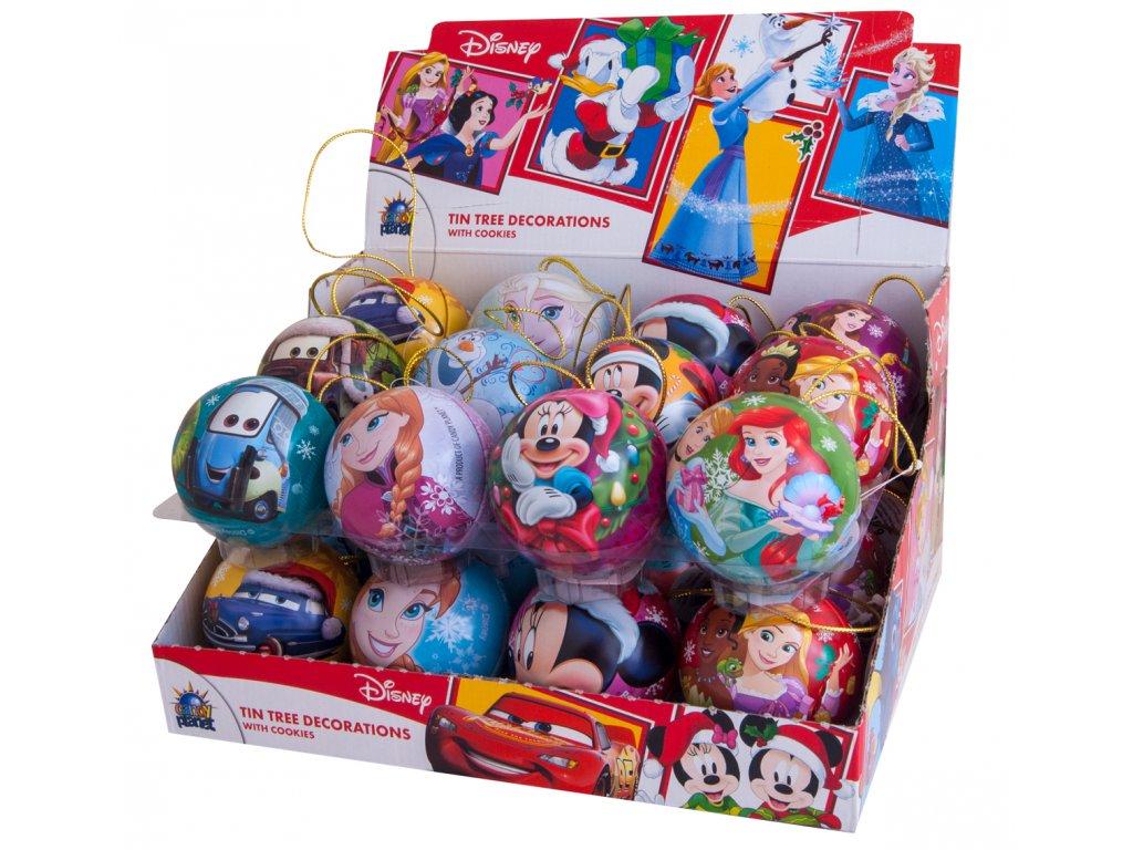 Vánoční koule mix Disney cookies 10g 12ks