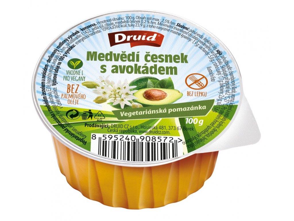 Druid Pomazánka Medvědí česnek s avokádem 100g