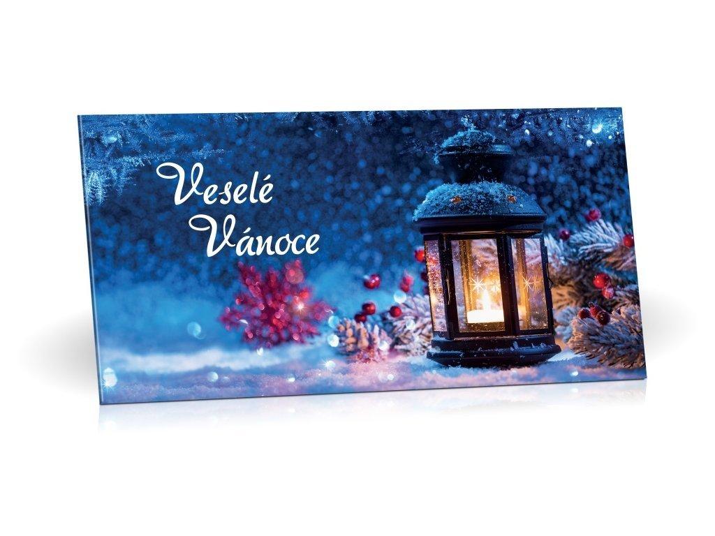 Mléčná čokoláda Veselé Vánoce motiv Lucerna 175g