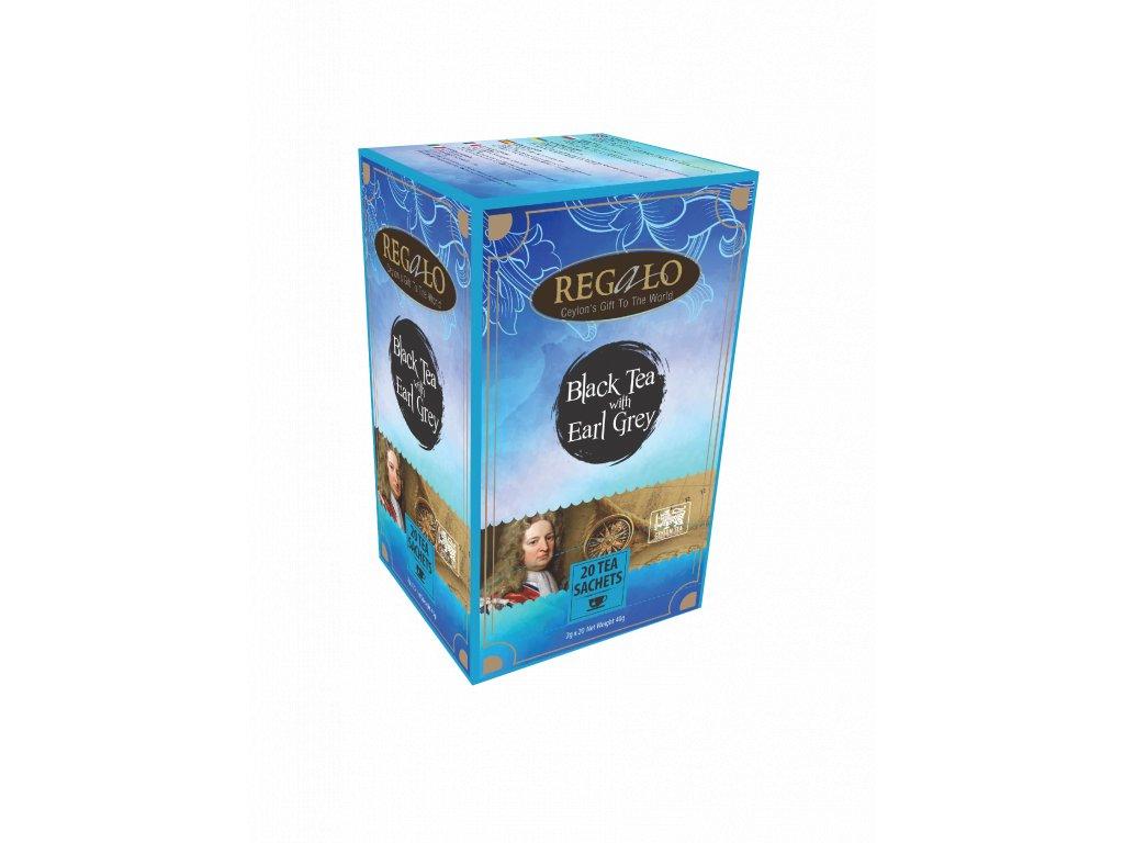 Regalo Earl Grey Sáčkový černý čaj 20x2g